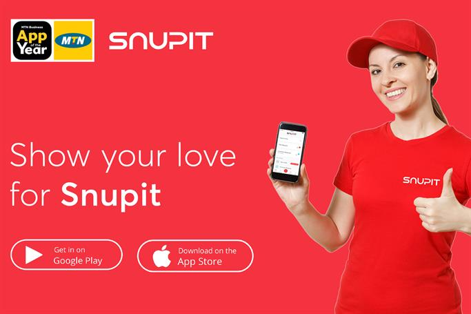 Snupit MTN App of the year Award