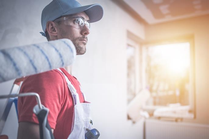 Professional Painting Contractor : Tips to working with a painting contractor paint your