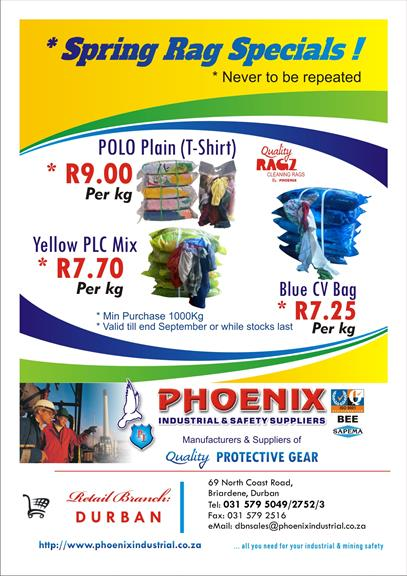 Phoenix Industrial & Safety Suppliers - Durban  Projects