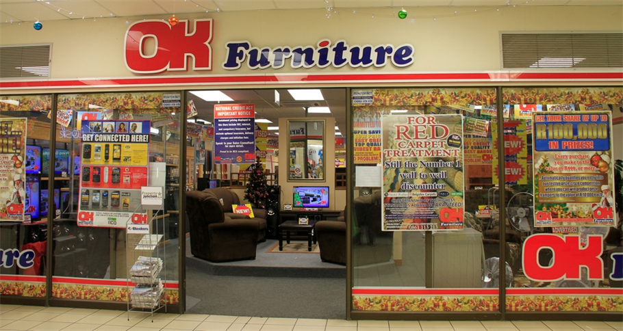 Ok furniture volksrust projects photos reviews and for Furniture and more store