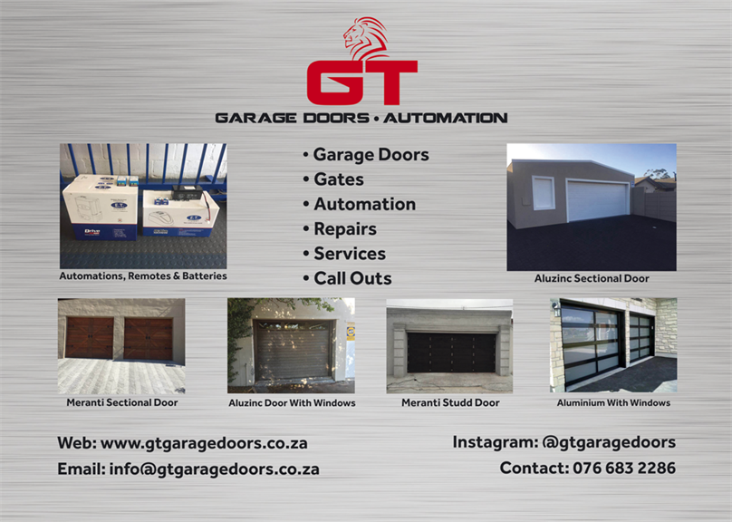 Gt Garage Doors And Automation Cape Town Projects Photos