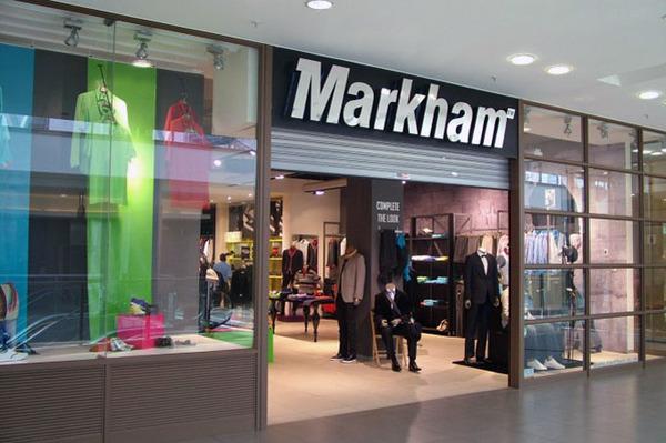 Markhams Clothing Store Website