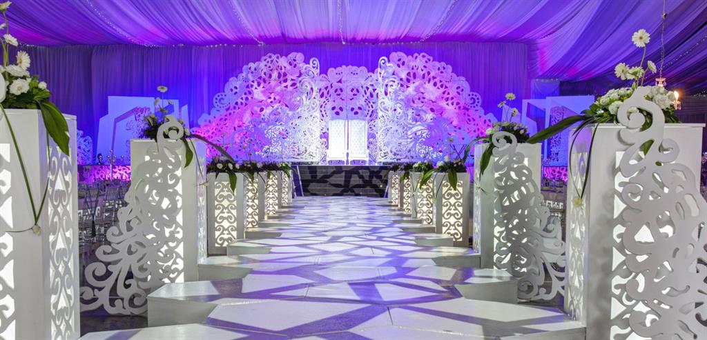 Koogan pillay set design durban projects photos for Arab wedding stage decoration