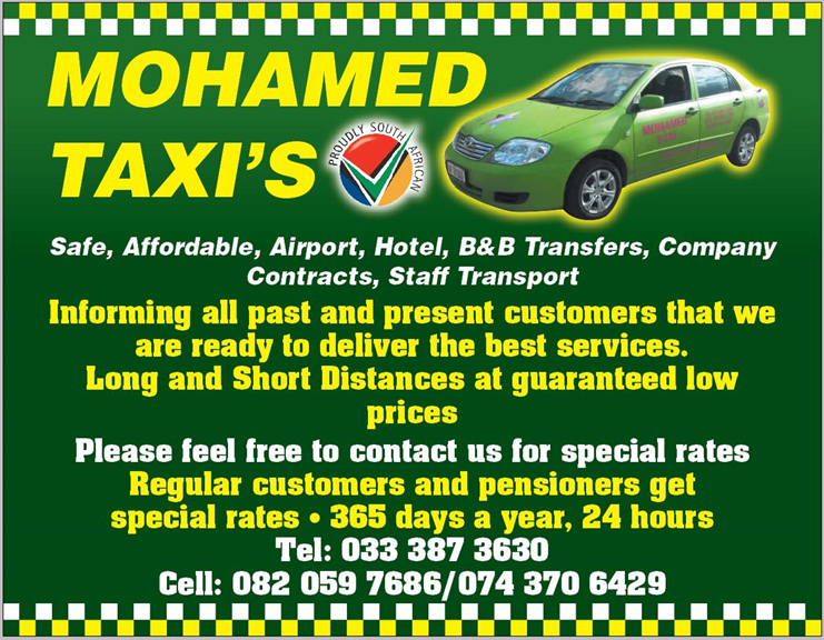 Mohamed Taxi - Pietermaritzburg  Projects, photos, reviews and more