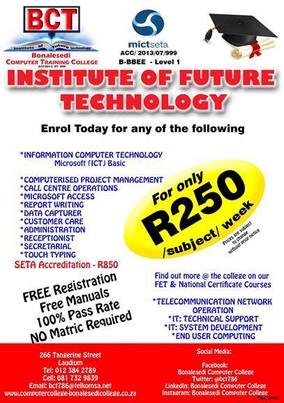 Bonalesedi Computer Training College - Pretoria  Projects, photos