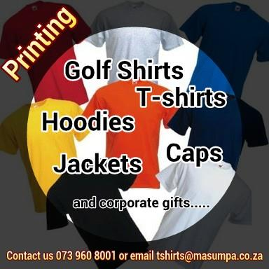 Masumpa technologies germiston projects photos for T shirt manufacturers in durban