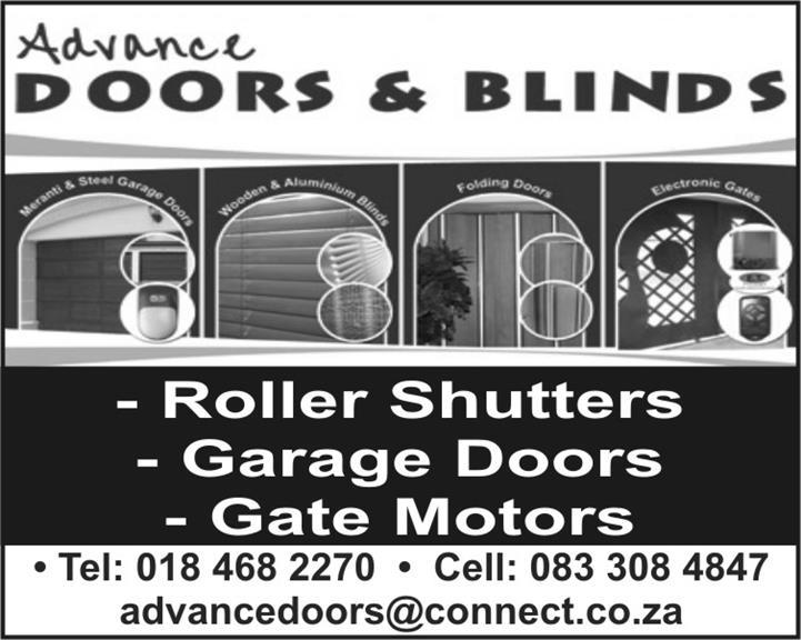 Advance Garage Doors U0026 Blinds   Klerksdorp. Projects, Photos ...