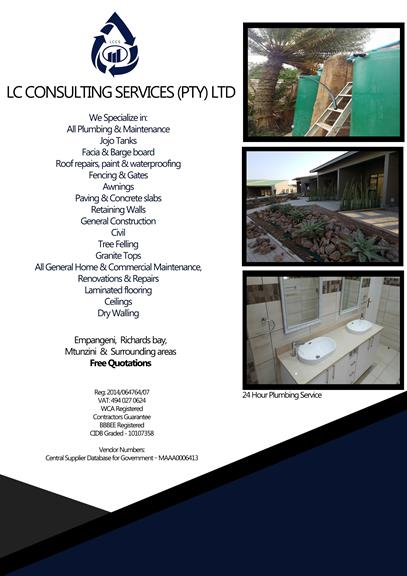 Lc Consulting Services Pty Ltd Empangeni Projects Photos