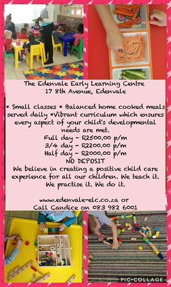 edenvale aftercare and homework centre